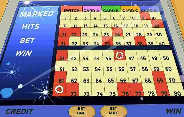 Keno card game online